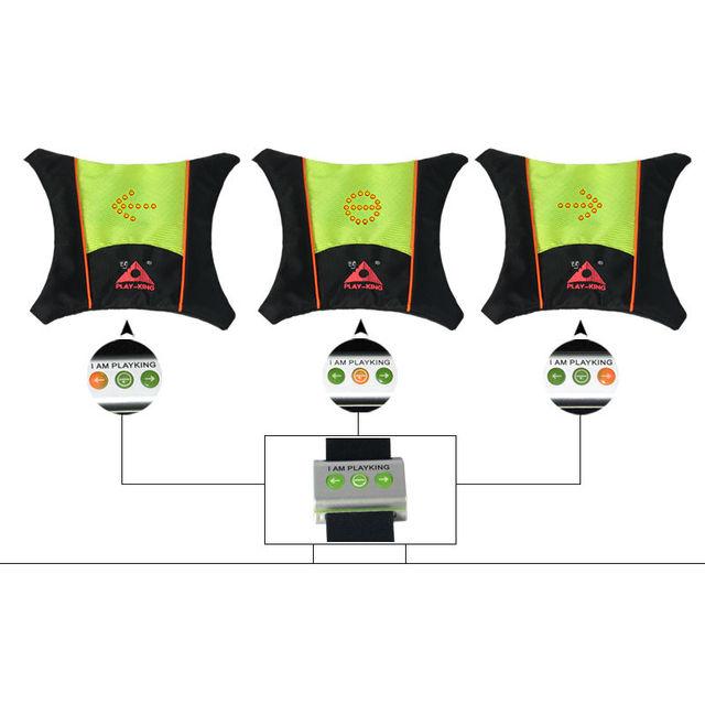 Veiligheid Hoge Zichtbaarheid Motorfiets Reflectie Vest Met LED ...