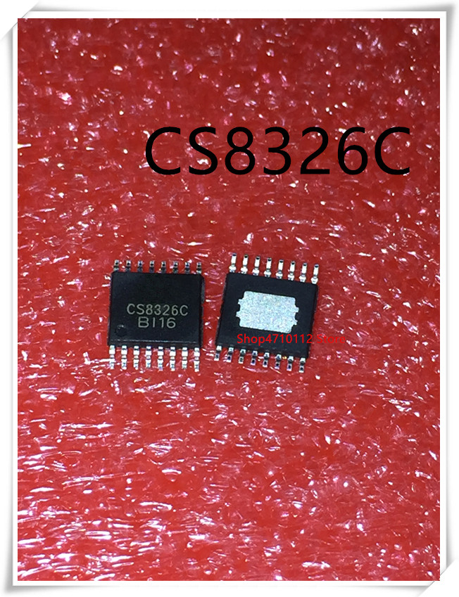 NEW 5PCS/LOT CS8326C CS8326 7W Mono Amplifier Audio IC HTSSOP-16  IC
