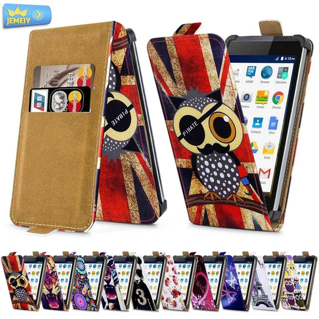 """Phone Cases For Micromax Canvas Fire 2 A104 Fire 4 A107 4.5"""", printed Leather Skin wallet Flip Cover Stand Case for Micromax"""