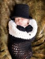 Newborn Baby Girls Boys Crochet Knit Costume Photo Photography Prop Outfits  clothes and accessories 0-4M baby Photography Props