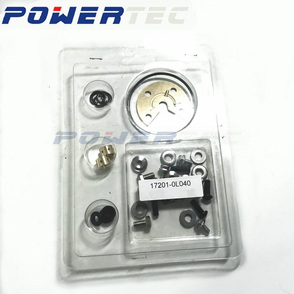 For Toyota Hilux 3.0LD KZN130 1KZ-T 1KD-FTV - CT20V 17201 0L040 Turbo Charger Service Kits Parts Turbolader Rebuild 172010L040