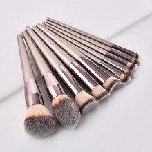 10/14pcs Makeup Brushes set Professional Powder Foundation Eyeshadow Make Up Cosmetics Soft Synthetic Hair