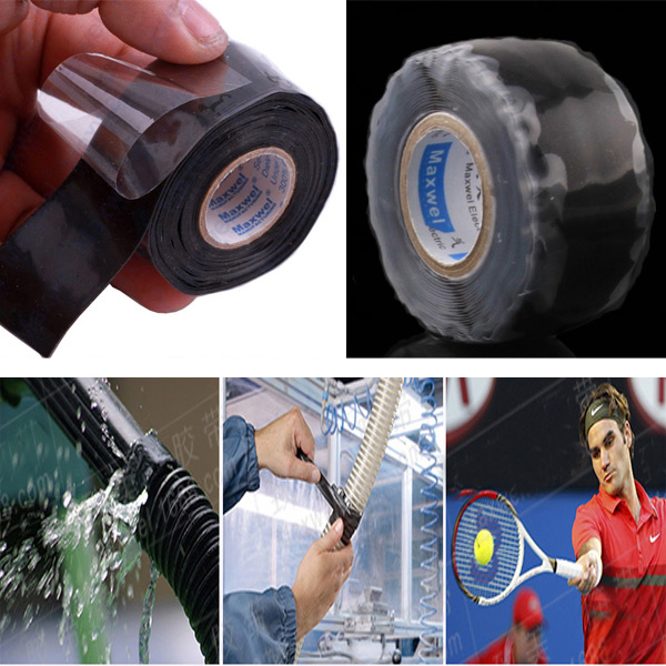 цена Useful Waterproof Silicone Performance Repair Tape Bonding Rescue Self Fusing Wire Sell Drop Shipping
