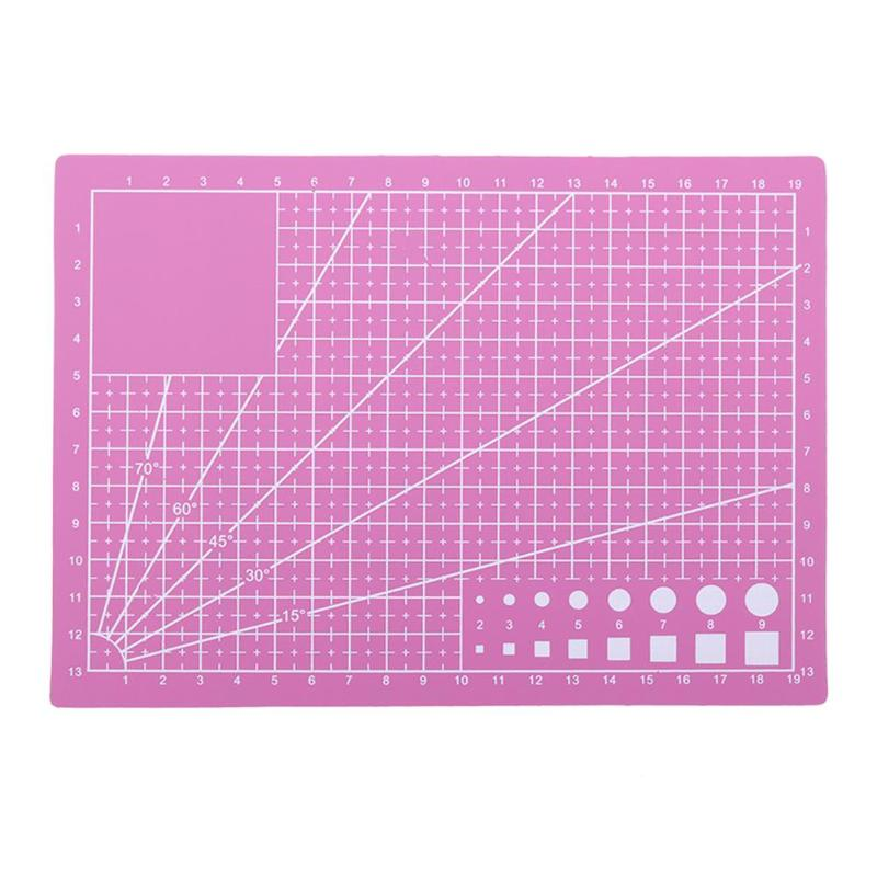A5 PVC Cutting Mat Board DIY Craft Patchwork Cut Pad Tools Self-healing Leather Cutting Board Escolar School Office Supplies
