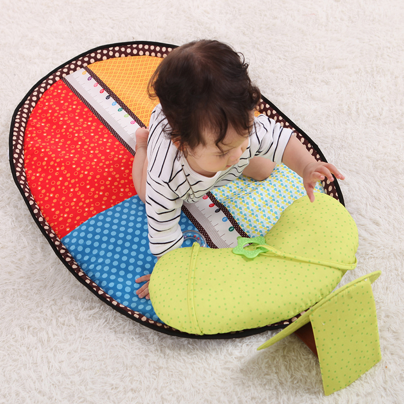 Gym Indoor Outdoor Game Mat 0-3Y Baby Playmat Waterproof Kids Intelligence Improvement Cushion Blanket Toys Crawling Pad