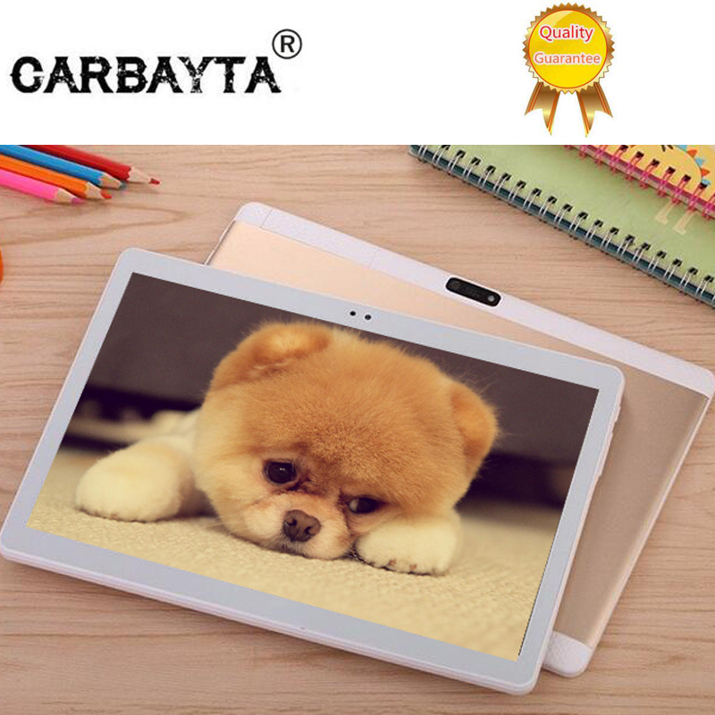 CARBAYTA 320 DPI 10.1' Tablets K99 10 Core 128GB ROM Dual Camera 8MP Android 7.0 Tablet PC 1920*1200 GPS bluetooth phone MT8752