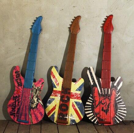 Achetez en gros guitare mur d cor en ligne des for Decoration murale guitare
