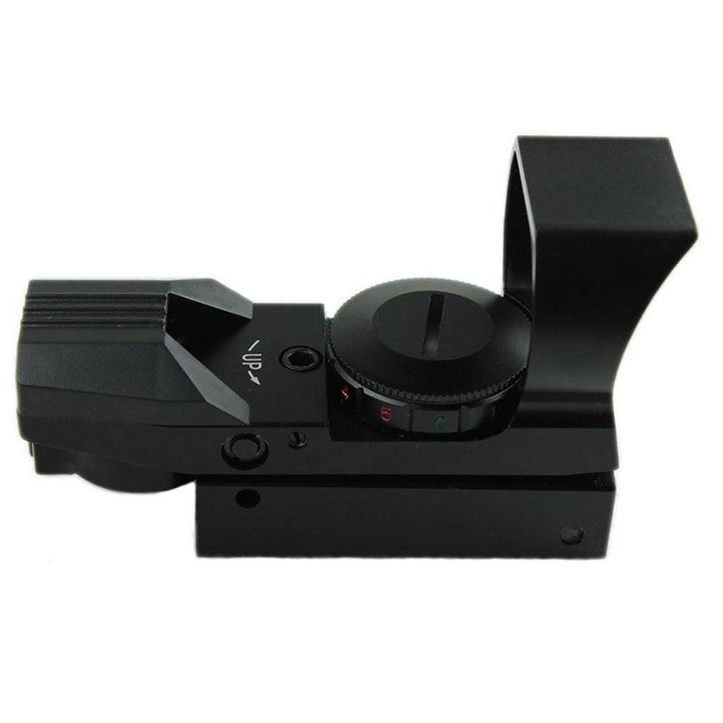 Funpowerland Tactical Πράσινη & Κόκκινη όραση Dot με ράγα 21 mm