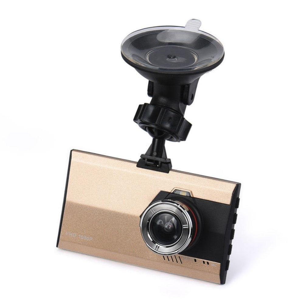 Vehemo Full HD Car DVR Car Camera Dash Cam 3 Inch Car Recorder Lens Camera Video Registrator G-Sensor Seamless Recording plusobd car recorder rearview mirror camera hd dvr for bmw x1 e90 e91 e87 e84 car black box 1080p with g sensor loop recording