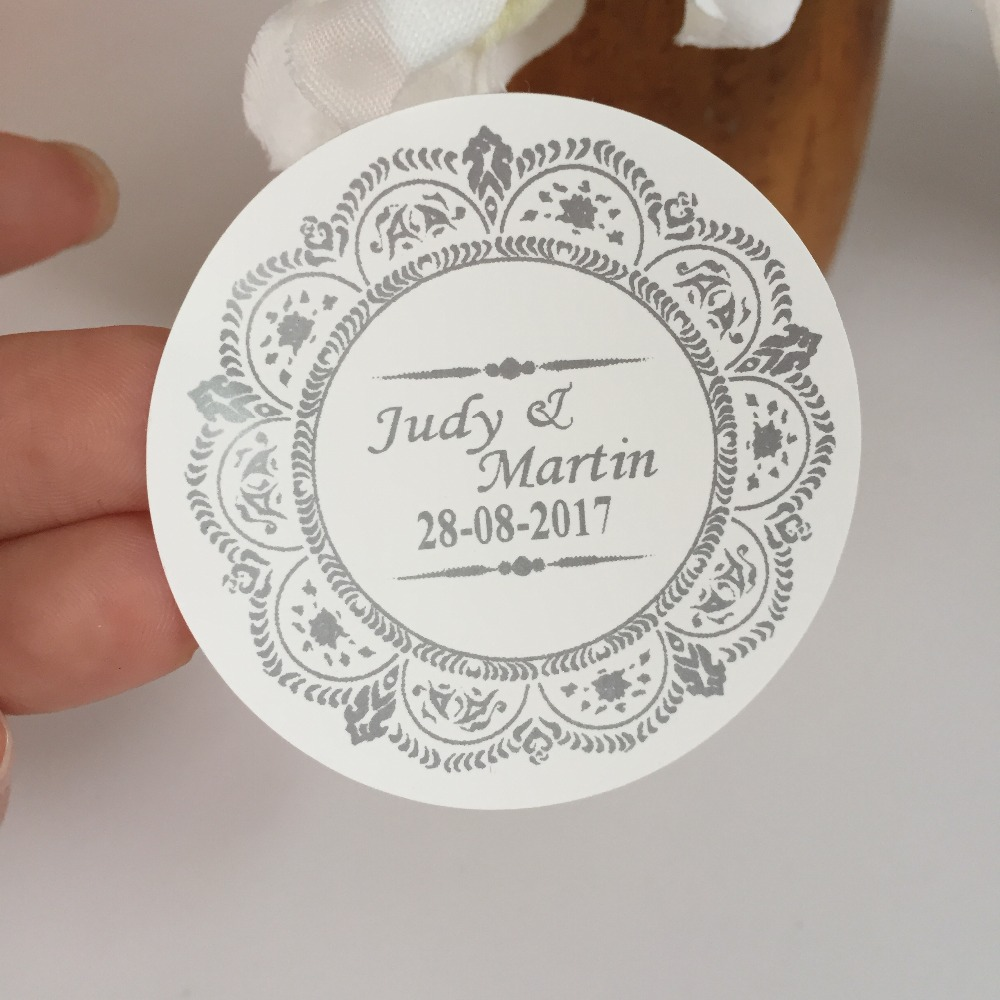 90 pcs vintage wedding decoration personalized stickers customize ...