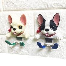 Креативный крючок из нержавеющей стали для собак, крепкий крючок для ванной комнаты, кухня, прихожая, крючки для пальто, настенные украшения, дверные крючки