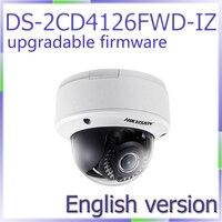 Free Shipping English Version DS 2CD4126FWD IZ Full HD1080p Video 2MP Low Light Smart Camera Motorized
