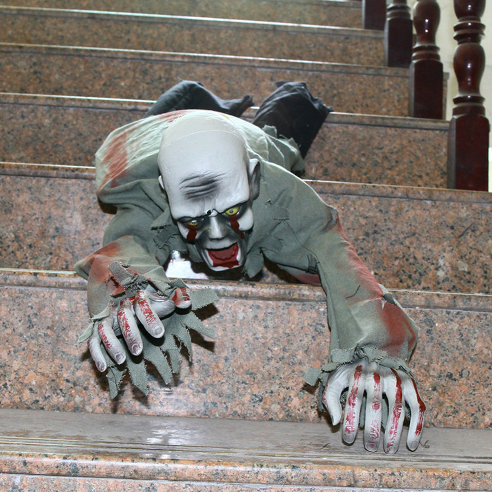 1pc Crawling Large Ghost Zombie Scary Realistic Horror