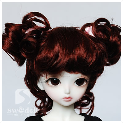 wig for BJD 1/3,1/4,1/6,1/8 ,BJD wig for doll . A15A775 .Doll and other accessories not include