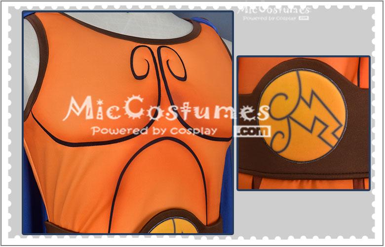 Hercules cosplay traje homem camisa saia manto halloween outfit