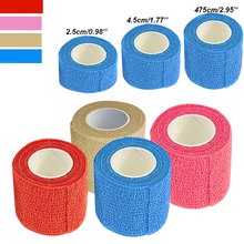 New Self Adhesive Ankle Finger Muscles Care Elastic Medical Bandage Gauze Tape Sports Wrist Support ASD88 цена