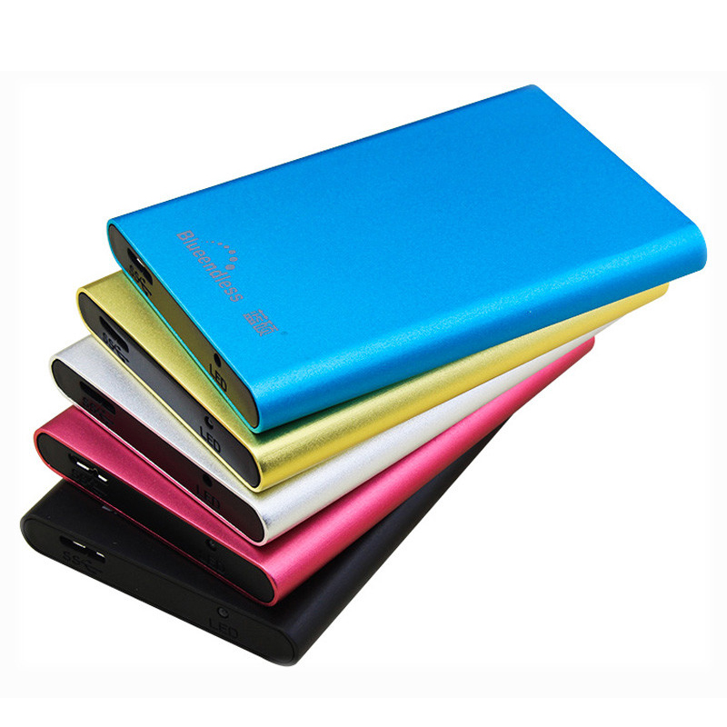 Colorful portable external hard drive disk max 2TB storage 2.5 inch sata USB3.0 high speed 250GB 320GB 500GB 750GB 1TB 2TB HDD