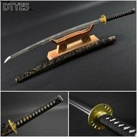 Katana 1095 High Manganese Steel Full Handmade Japanese Katana Sword Samurai Sword Real Japanese Katana Afiada Espada Samurai