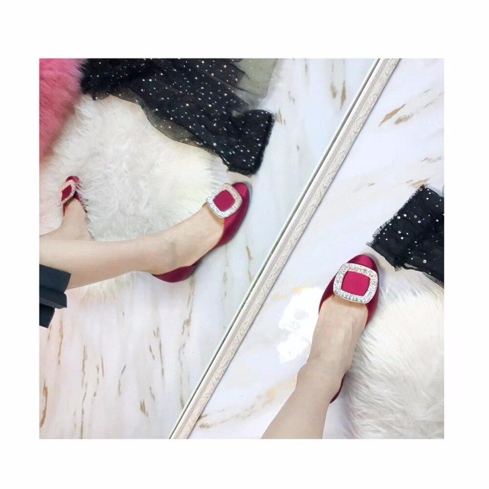 2018 shaduo бренд класса люкс шелк цветочные тапочки Swarovski Crystal плоские босоножки на каблуках Для женщин повседневные сандалии Праздничная обувь
