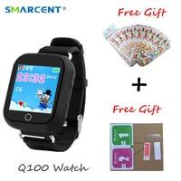 SMARCENT GW200S Q100 Ragazzo Intelligente Orologio GPS Wifi Posizionamento SOS Tracker Baby Safe Monitor Smartwatch pk Q90 Q50 Q528 Q750 orologi