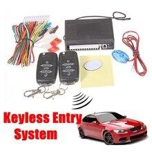 Kit de Sistemas de Alarma De coche Auto Remoto Puerta Vehículo Sistema de Entrada Sin Llave de Bloqueo Cierre Centralizado con Mando a distancia Para VW