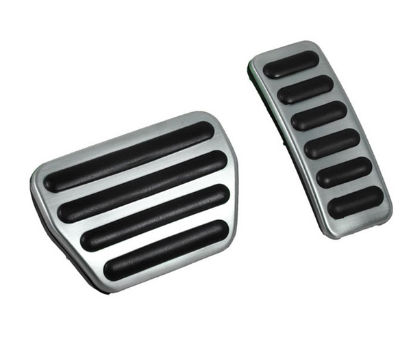 Car Brake Accelerator Pedal Fuel Pedal AT Accelerator Foot Rest Pedal For Land Rover The All-New Discovery 5 2017 Car Styling power booster gas pedal accessories speed regulator car strong booster electronic throttle controller for land rover discovery 3
