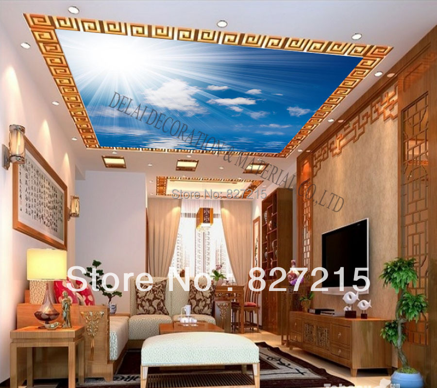 S 5223 Print Ceiling Tiles Pvc Stretched Ceiling Filmhome Or