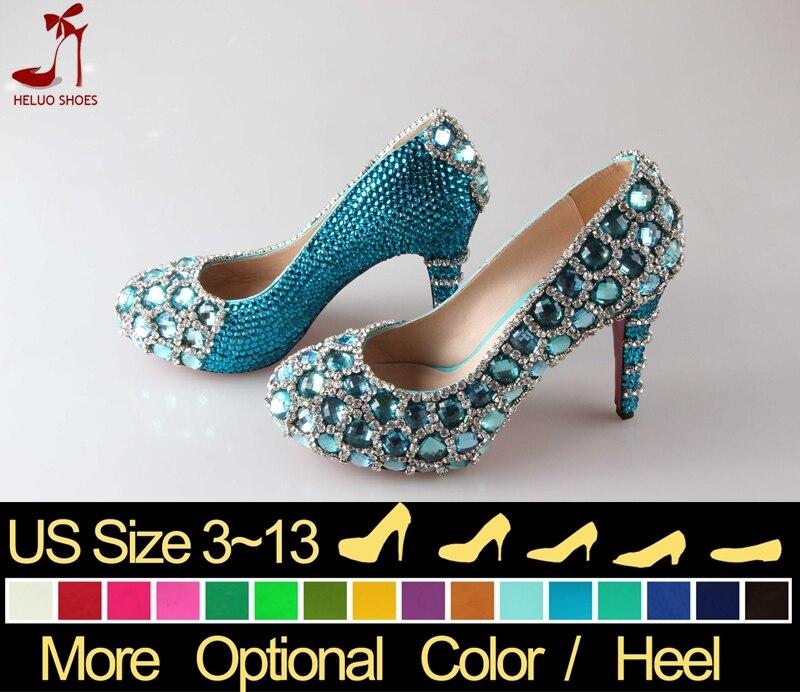 Online Get Cheap Turquoise Glitter Pumps -Aliexpress.com | Alibaba ...