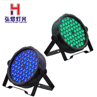 2PCS/LOT Par Led 54x3w Led Par 54 Light Party Par Light dj Par Light