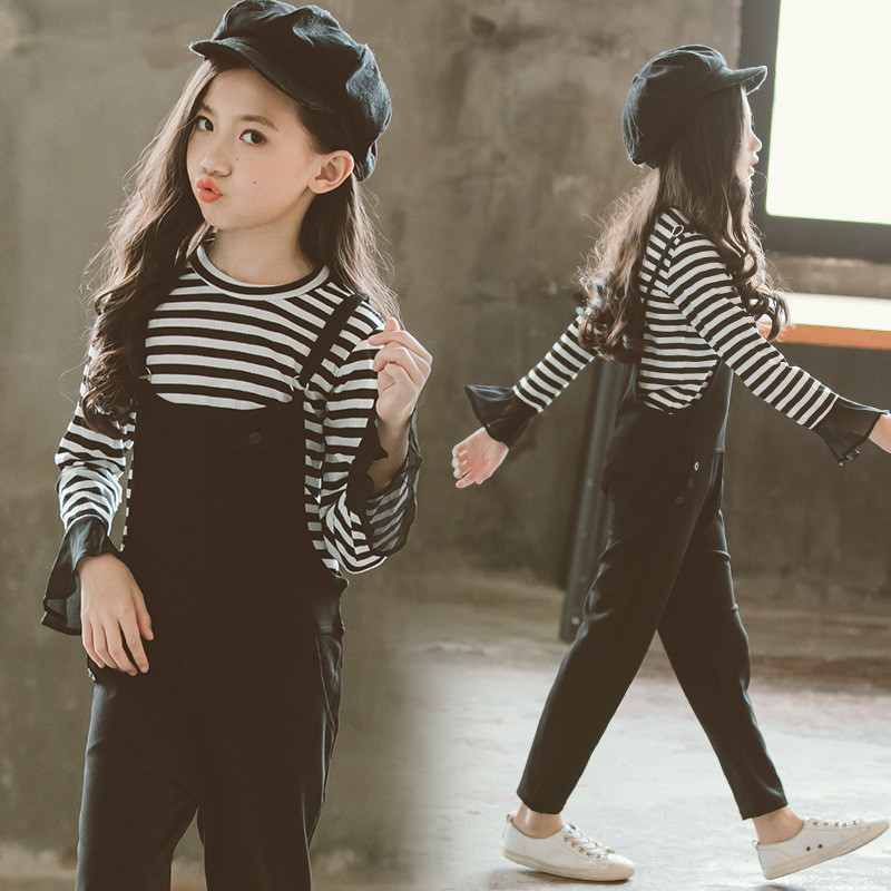 2019 New Spring Kids Girls Clothes Set Fashion Sport Girls Hoodies +Pant 4-13Y Girls Clothing Set Kids Girl Suits spring outfits for kids