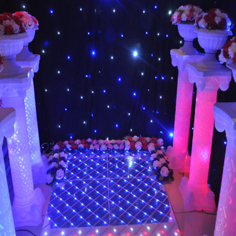 New Arrival Wedding Roman Column Welcome Area Pillar With LED lights Shiny Party Decoration Supplies 10 pcs lot