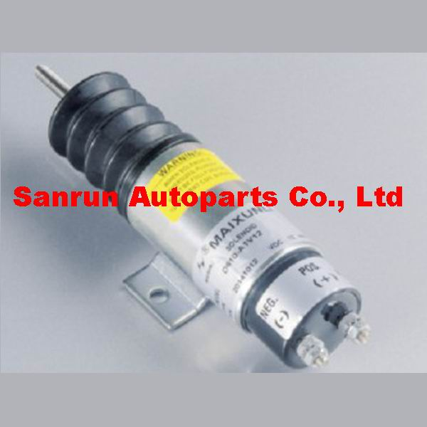 Speed solenoid D610-A1V12 for 12V Dual Coil Pull Solenoid pull solenoid p613 a1v12 12 volt for engine continuous duty free fast shipping