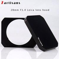 7 artisans rectangular metal hood for 7artisans 28mm F1.4 Leica lens