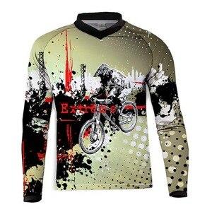 Image 2 - Maglie Moto Moto XC Moto estate Mountain Bike maglia Motocross XC BMX DH MTB T Shirt abbigliamento