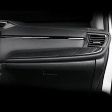 Для Хонда сrv cr v 2017 2018 Новый abs углеродное волокно Стиль