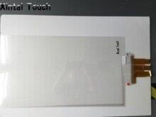 Darmowa dostawa! 43 cal interaktywne folia z ekranem dotykowym USB przewidywany ekran dotykowy pojemnościowy folia/20 punktów multitouch