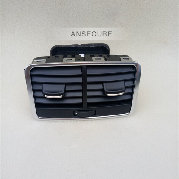 Black Rear Air Conditioning Outlet Center Armrest Air Vent Assembly VENTS FOR <font><b>Audi</b></font> <font><b>A6</b></font> C6 Avant allroad quattro 4FD 819 203 A image