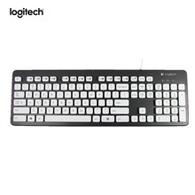 Моющаяся Клавиатура Logitech K310 для Windows, черный цвет