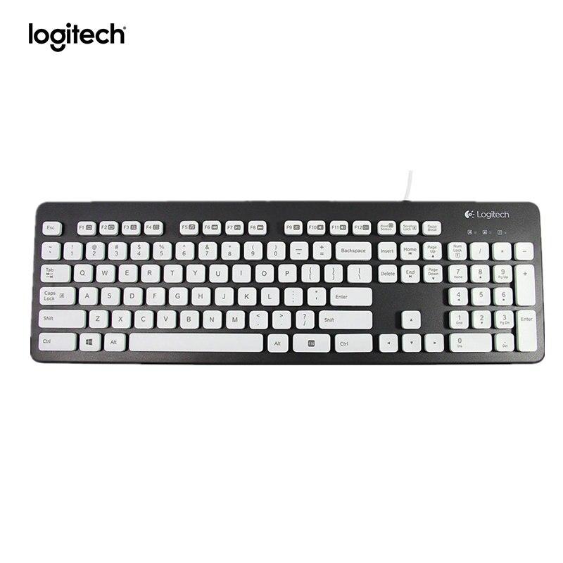 Logitech Tastiera Lavabile K310 per Finestre PCs-NeroLogitech Tastiera Lavabile K310 per Finestre PCs-Nero