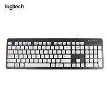 Logitech Waschbar Tastatur K310 für Windows PCs Schwarz