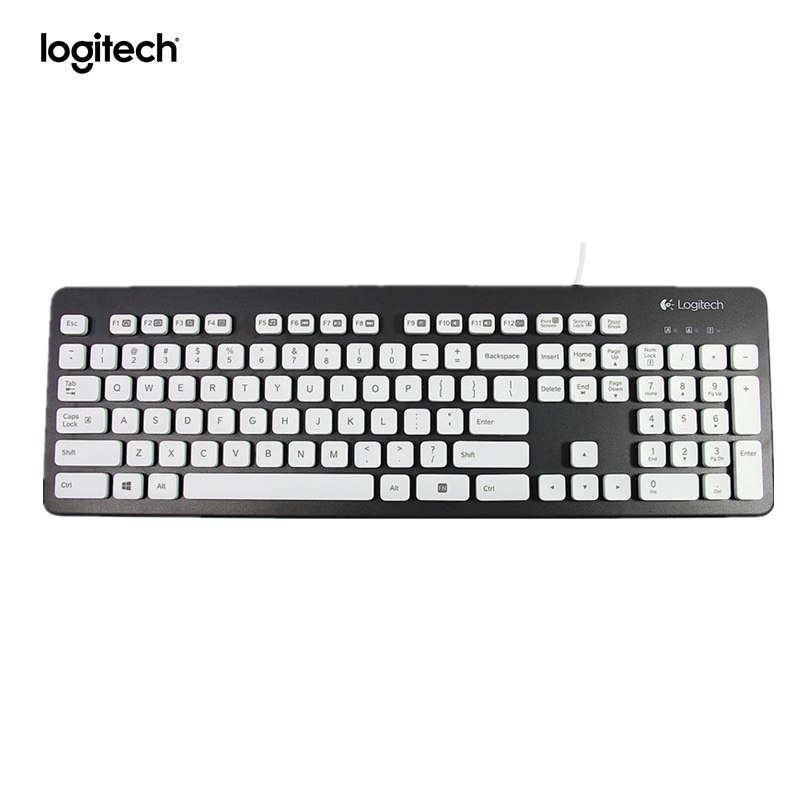 Logitech vaskbart tastatur K310 til Windows-pc'er - Sort