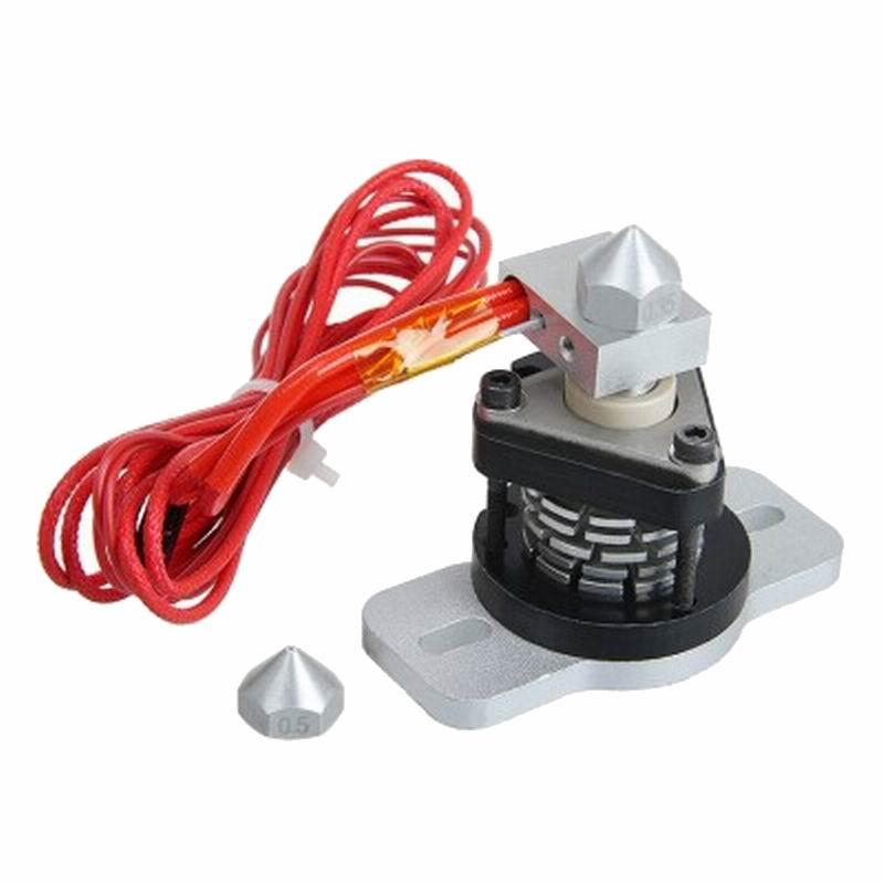 все цены на SENHAI3D 3D Printer Parts Reprap Hot End V2.0 Nozzle Diameter 0.35mm/0.4mm онлайн