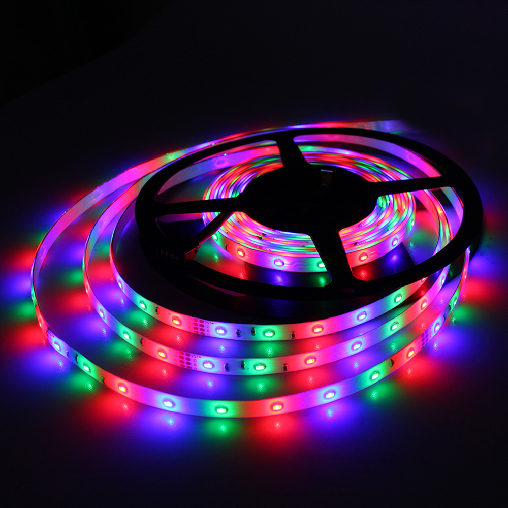 Tanbaby Smd 3014 Led Strip Light Dc12v 5m 60led M Waterproof Flexible Ribbon Changeable