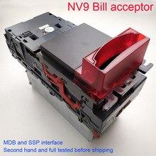Б/у акцептор купюр, компактный валидатор банкнот, акцептор ITL NV9 для автомата