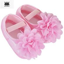 ROMIRUS Baby Shoes Sapatinhos para Bebe menina mokasyny noworodki dziewczyny Booties dla niemowląt buty sneakers infantil menina dzieci tanie tanio Dziecko First Walkers Stałe Jedwabiu Kwiat Pasuje do rozmiaru Weź swój normalny rozmiar Opaska elastyczna Wiosna jesień