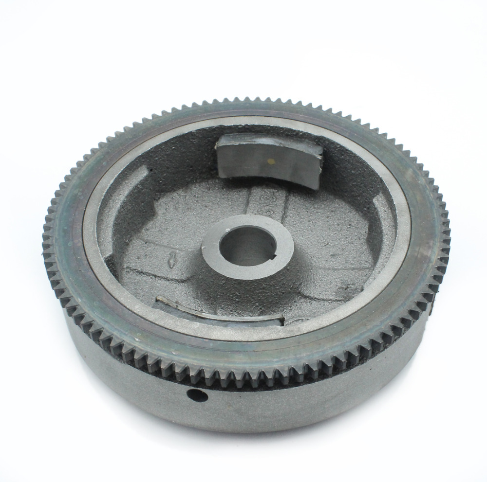 Exectric Flywheel Magnets Ring Gear For HONDA GX340 GX390 188F 11-13hp Gasoline Engine Motor Generator Water Pump LawnmowerExectric Flywheel Magnets Ring Gear For HONDA GX340 GX390 188F 11-13hp Gasoline Engine Motor Generator Water Pump Lawnmower