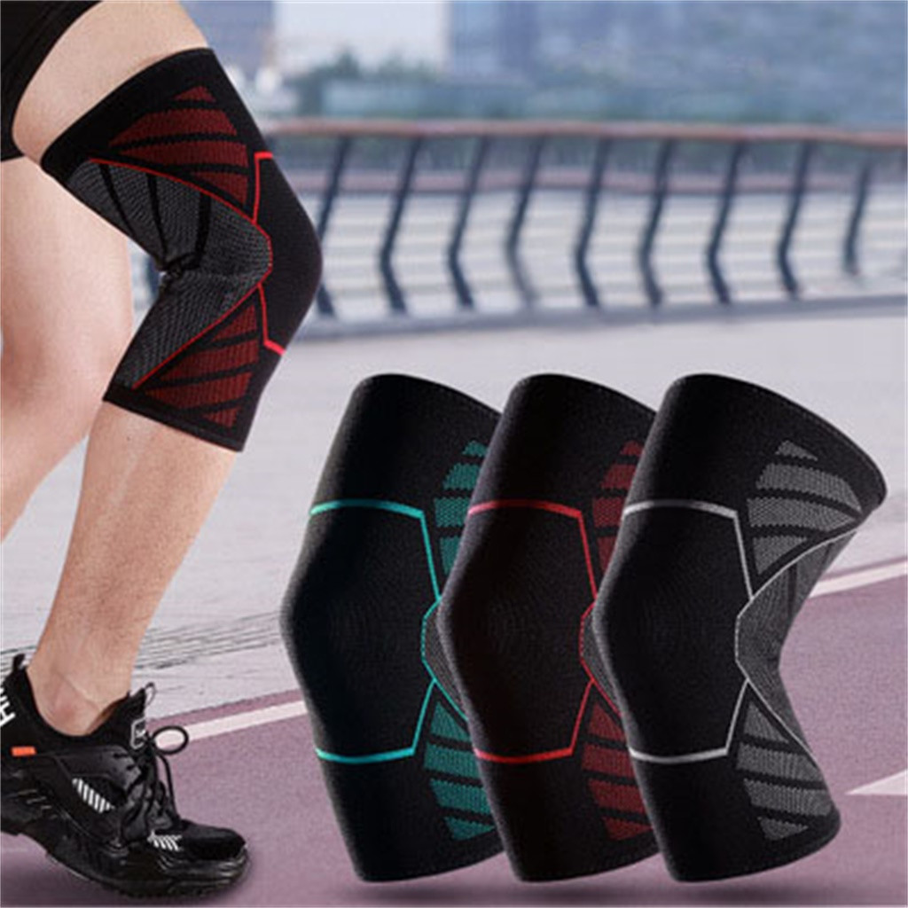 1pc Nylon Elastic Sports Knee Pads Breathable Support Knee Brace Running Fitness Hiking Cycling Knee Protector  3.0#