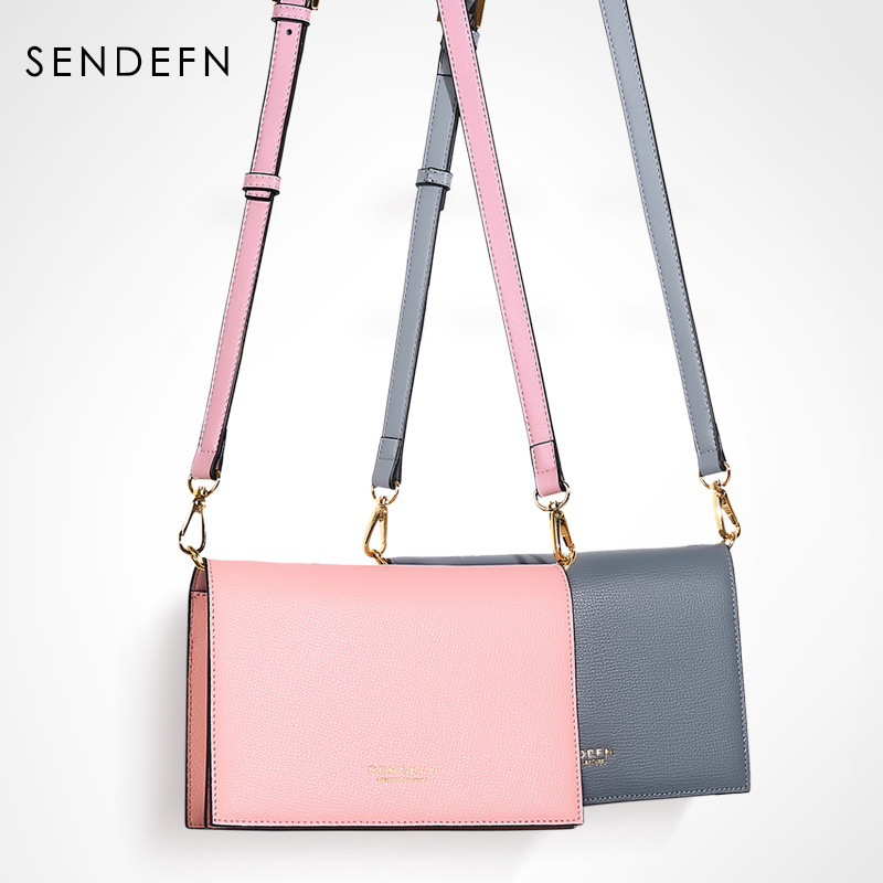 Summer Brand Bags Women Leather Handbags Chain Small Women Messenger Bag Candy Color Women Shoulder Bag Party SENDEFN yeesupsei daily bag women leather handbag golden chain small women messenger bag candy color women shoulder bag party lock purse