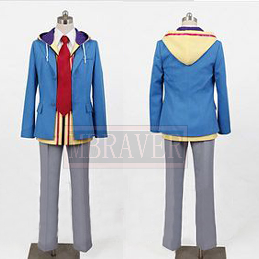 Hakuouki Cosplay Toudou Heisuke Cosplay Costume Custom Made Any Size Free Shipping