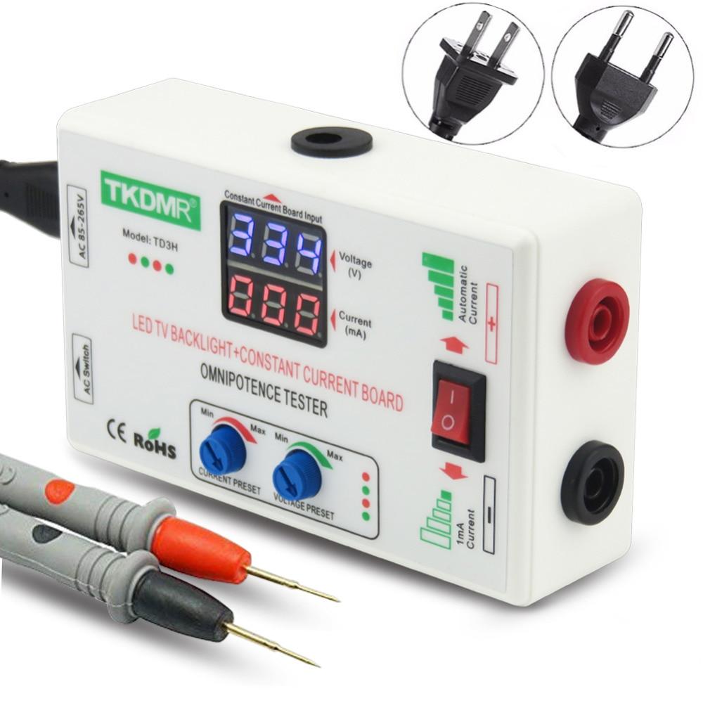 TKDMR 0 330V Smart Fit Manual Adjustment Voltage TV LED Backlight Tester Current Adjustable Constant Current Board LED Lamp Bead